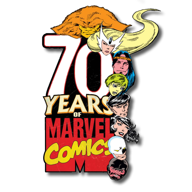 Alpha Flight Marvel Comics 70th Anniversary Logo
